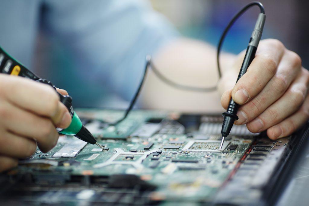 Fabricação de produtos eletrônicos