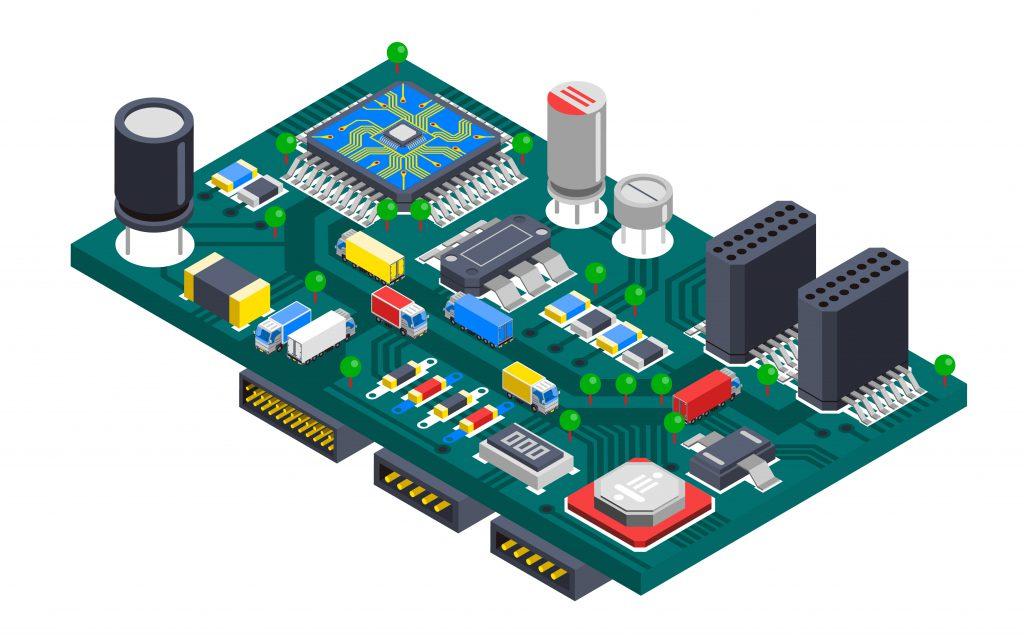 Escassez de Componentes Eletrônicos no Comércio Mundial